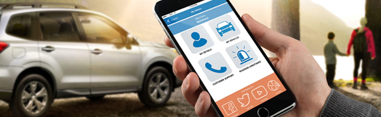Download the My Subaru App for Your Willowdale Subaru