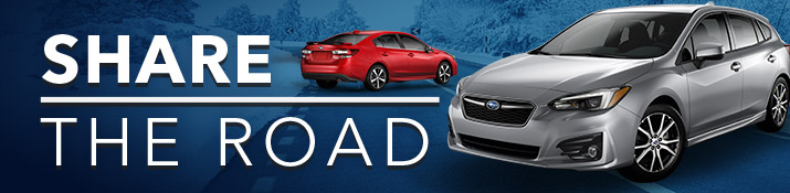 Share The Road - Safe Driving Tips From Willowdale Subaru