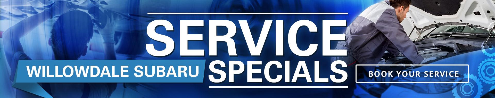Willowdale Subaru Service and Repairs