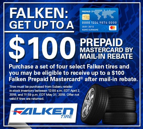 Tire Rebate for Falken Tires