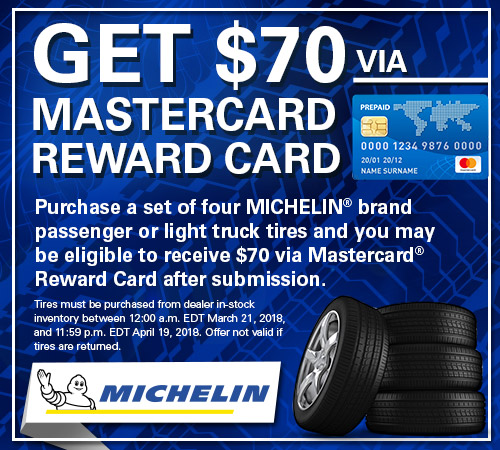Michelin Tire Rebates from Your Toronto Subaru Source