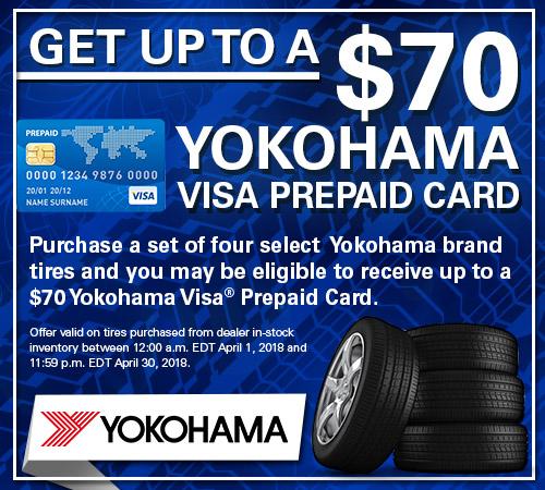 Yokohama Tire Rebates from Your Toronto Subaru Source