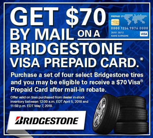 Bridgestone Tire Rebates from Your Toronto Subaru Source
