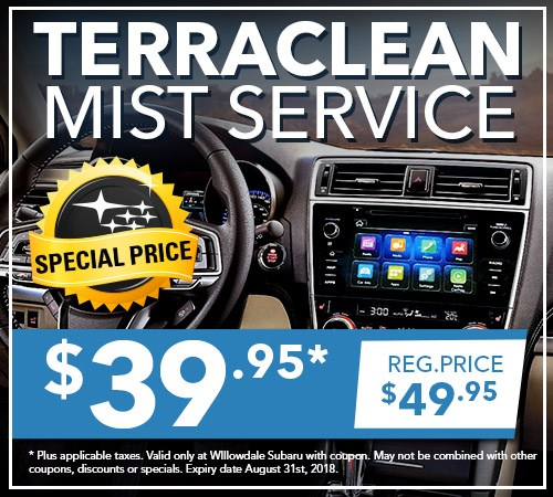 Willowdale Subaru Service and Repairs | Terraclean Mist Services in Toronto