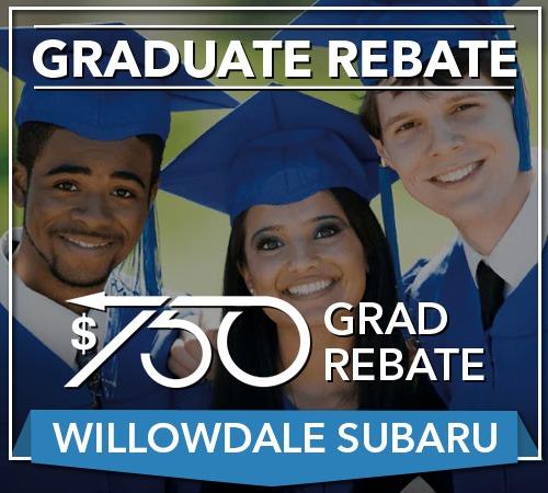 Your Toronto Graduate Rebate For Your Next Willowdale Subaru