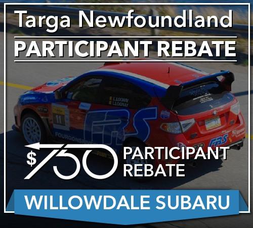 Your TARGA Rebate For Your Next Willowdale Subaru
