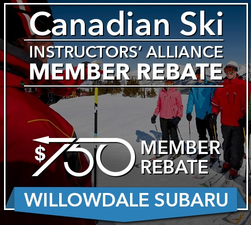 Your Canadian Ski Instructor Rebate For Your Next Willowdale Subaru