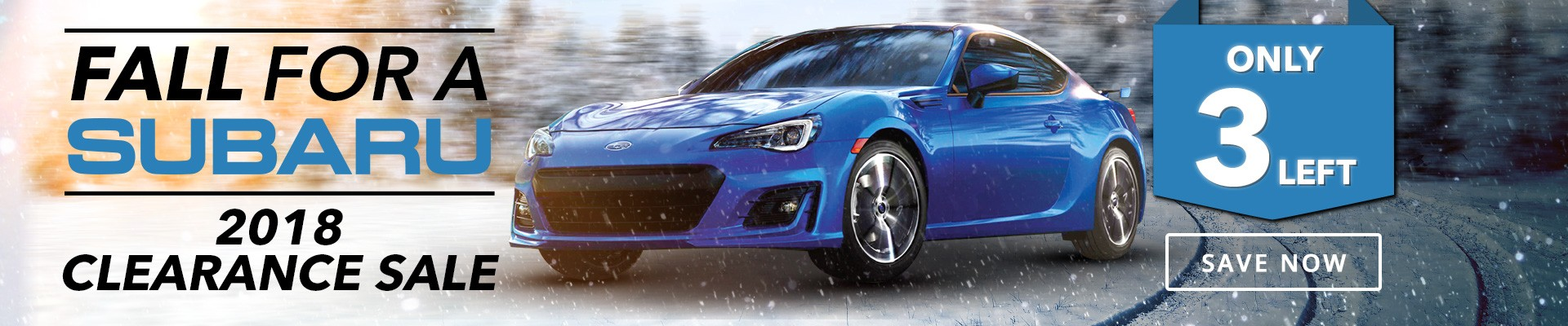 Willowdale Subaru BRZ Clearance - Only 3 Left in Stock!