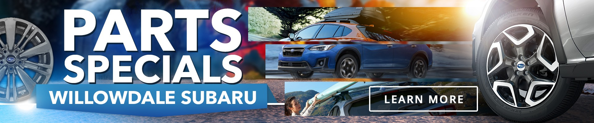 Toronto Parts Offers on Subaru Vehicles from Willowdale Subaru
