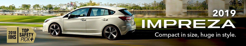 2019 Subaru Impreza at Your Toronto Subaru Dealership