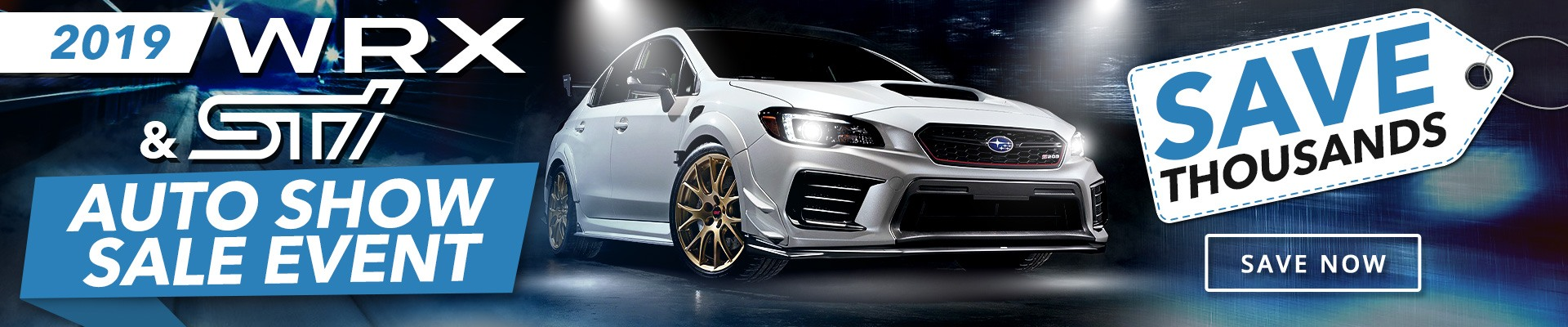 Out Limited Time Offer | WRX & STI Models in Toronto
