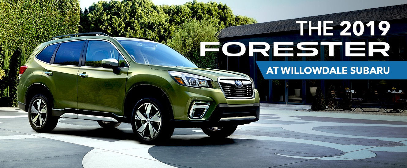 The 2019 Subaru Forester is At Your Toronto Subaru Dealer