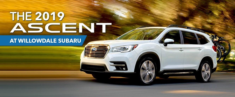 2019 Subaru Ascent  At Willowdale Subaru
