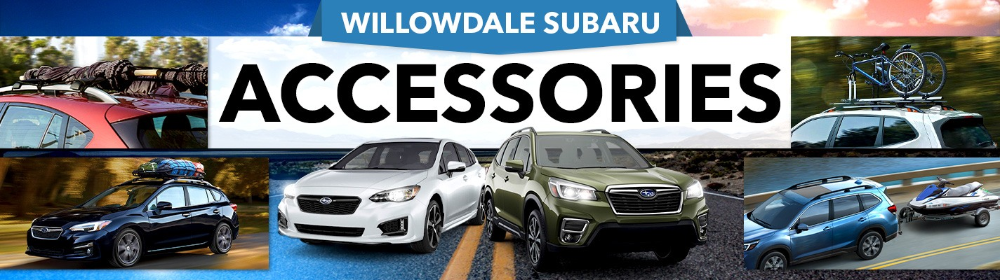 Subaru Accessories - Willowdale Subaru