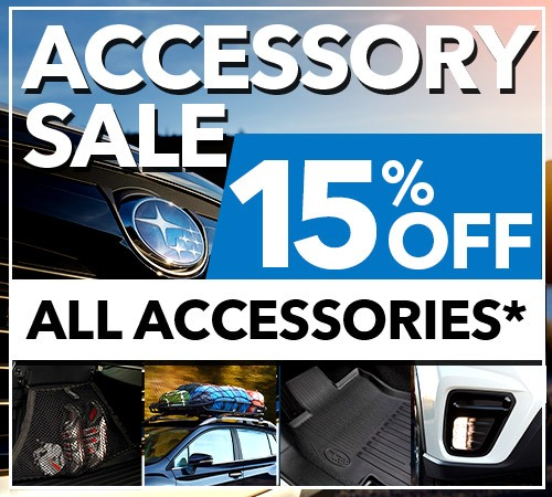 Willowdale Subaru - Get 15% Off All Accessories