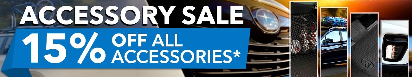 Willowdale Subaru - Get 15% Off Accessories