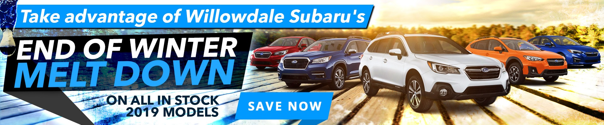 Our Price Meltdown is On For All 2019 Subaru Models at Our Big Toronto Subaru Sale!