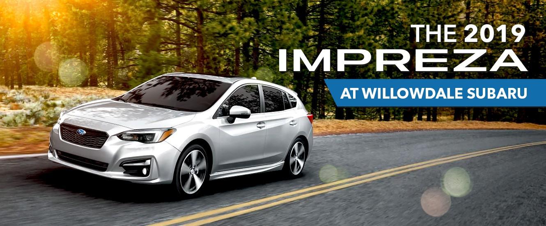 2019 Subaru Impreza at Willowdale Subaru