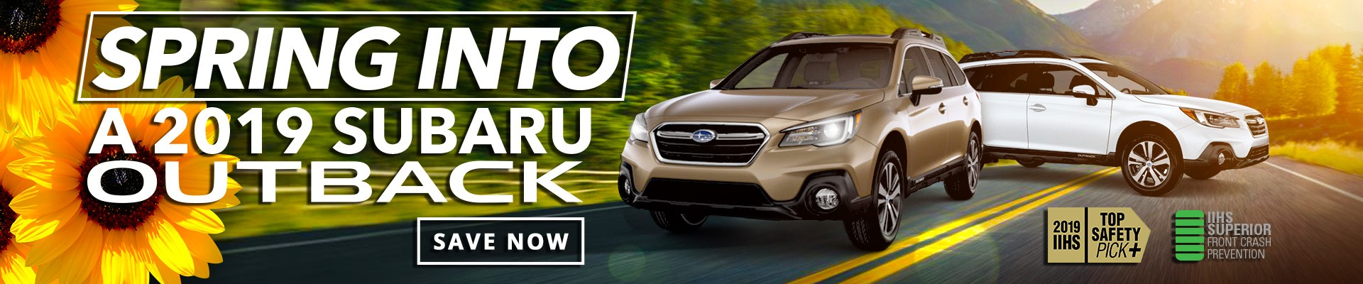 Spring Into a 2019 Subaru Outback with Exclusive Deals on all new 2019 Subaru Models at Our Big Toronto Subaru Sale!