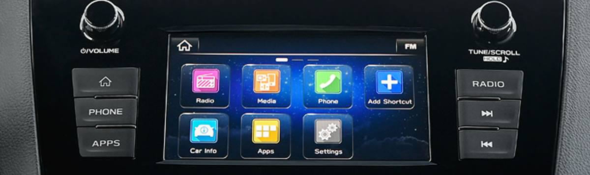 6.5-Inch Infotainment System