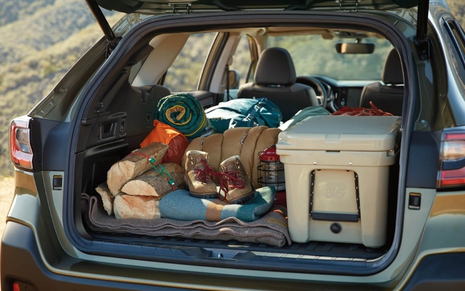 Up to 75.7 cubic feet of Cargo Room in the 2020 Subaru Outback