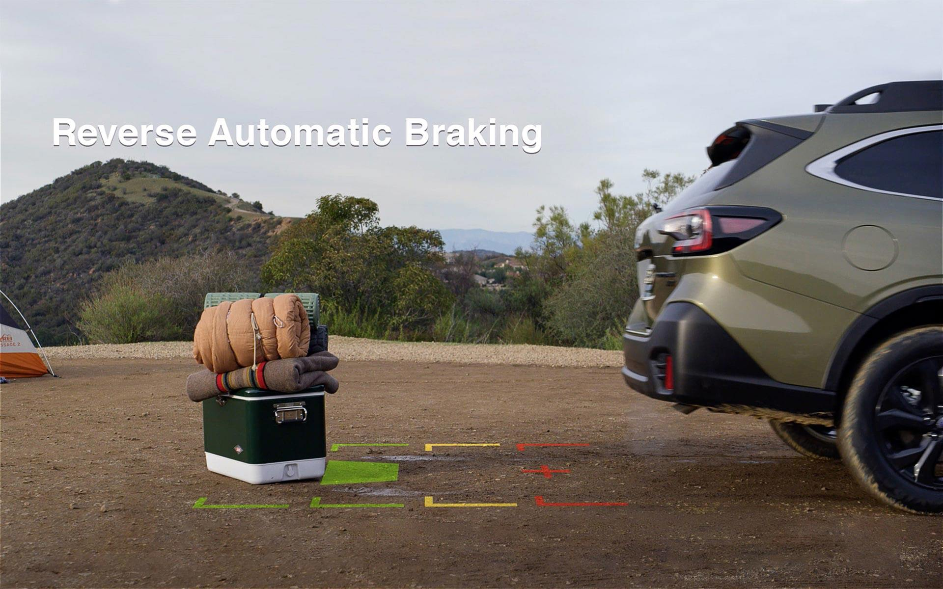 Available Reverse Automatic Braking