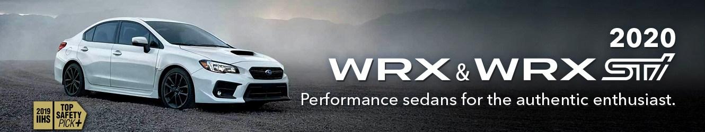 2020 SUBARU WRX OFFERS - ENGINEERED TO PERFORM