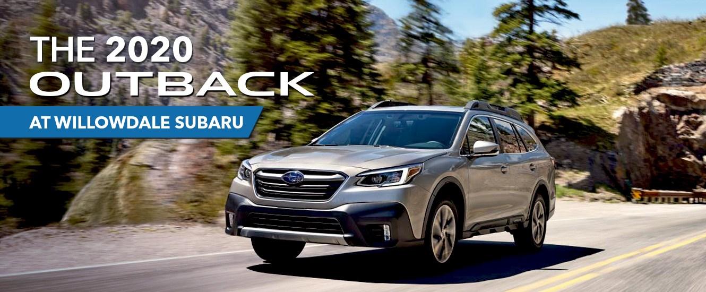 The 2020 Subaru Outback at Willowdale Subaru