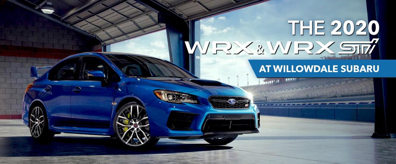 The 2020 Subaru WRX & WRX STI at Willowdale Subaru