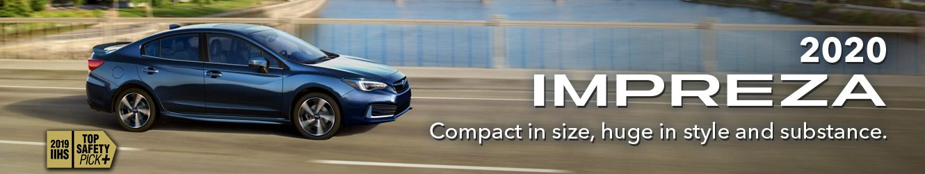 2019 Subaru Impreza. Compact in size, huge in style and substance. At Willowdale Subaru