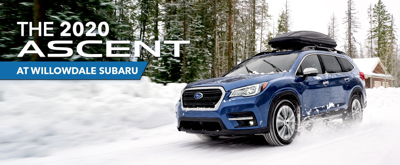 The 2020 Ascent Available at Willowdale Subaru in Toronto, Ontario