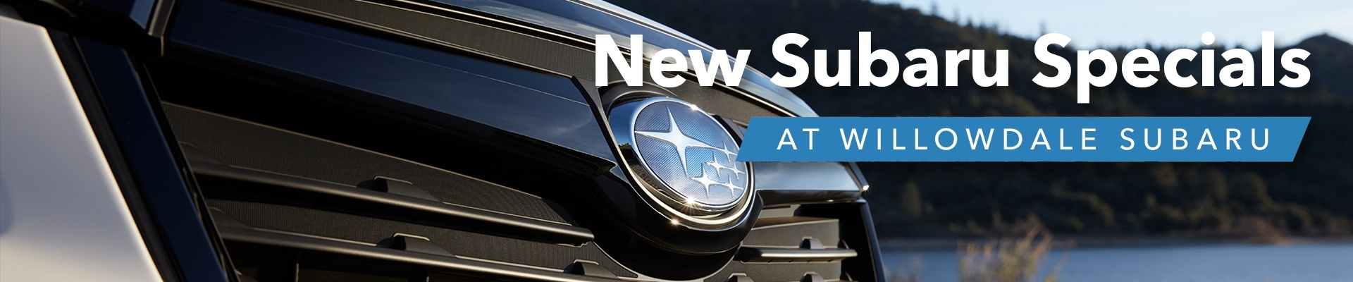 Willowdale Subaru New Subaru Specials