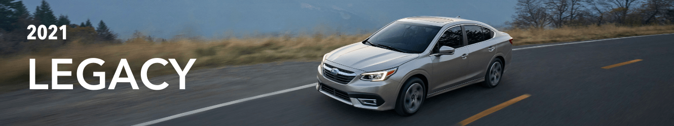 2020 SUBARU LEGACY OFFERS - THE ALL-NEW ALTERNATIVE TO THE TRADITIONAL SEDAN