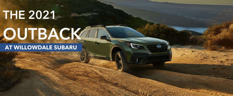 2020 Subaru Outback at Willowdale Subaru